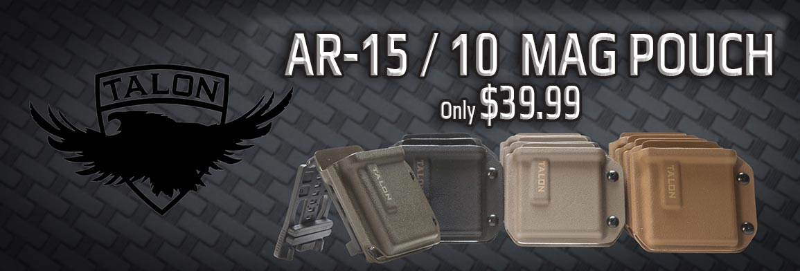 AR-15 AR-10 Retention Mag Pouch